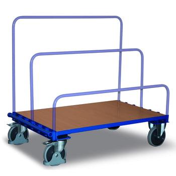 Plattenwagen - 500 kg Traglast - 800 x 1.200 mm Ladefläche - thermoplastische Gummireifen