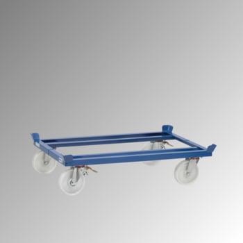 Fetra Palettenfahrgestell für Routenzüge - Tragkraft 1.050 kg - 327 x 855 x 1.255 mm (HxBxT) - Polyamid Rollen