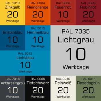 Ordnungsschrank - Vollblechtür - 26 Fächer - 1.950x640x400 mm (HxBxT) - lichtgrau/anthrazitgrau online kaufen - Verwendung 3