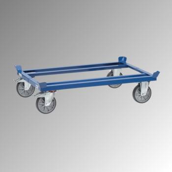 Fetra Palettenfahrgestell - Tragkraft 750 kg - 329 x 855 x 1.255 mm (HxBxT) - TPE Rollen