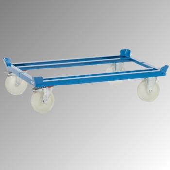 Fetra Palettenfahrgestell - Tragkraft 1.050 kg - 329 x 855 x 1.255 mm (HxBxT) - Polyamid Rollen