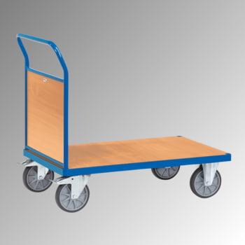 Stirnwandwagen - 600 kg Traglast - 990 x 809 x 1.320 mm (HxBxT) - Holzwand
