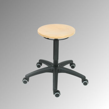arbeitshocker mit ringausl sung sitzh he 445 635 mm. Black Bedroom Furniture Sets. Home Design Ideas