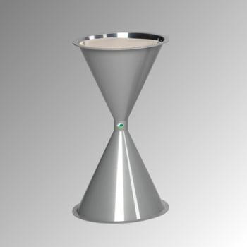 Standascher - Kunststoff - 722 x 420 x 420 mm (HxBxT) - weißaluminium