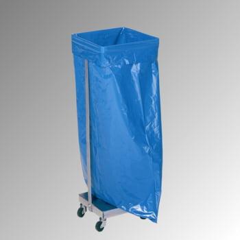 Müllsackständer - für 120 l Säcke - fahrbar - 985 x 330 x 370 mm (HxBxT) - Stahl