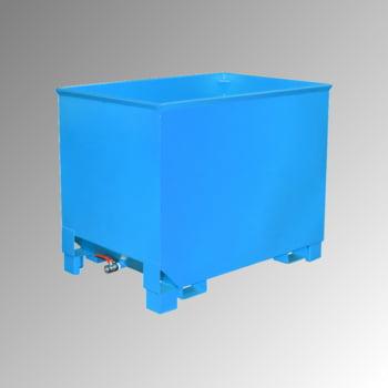 Spänekasten - 3-fach stapelbar - Volumen 300 l - Traglast 500 kg - 795 x 840 x 620 mm (HxBxT) - lichtblau