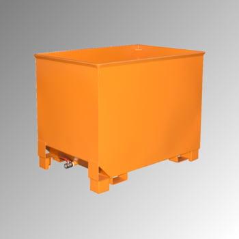 Spänekasten - 3-fach stapelbar - Volumen 300 l - Traglast 500 kg - 795 x 840 x 620 mm (HxBxT) - gelborange