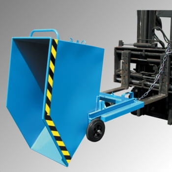 Kastenwagen - 400 l Volumen - Traglast 300 kg - Einfahrtaschen - schwarzgrau online kaufen - Verwendung 3
