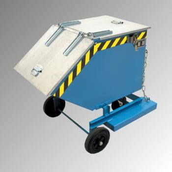 Kastenwagen - 400 l Volumen - Traglast 300 kg - Einfahrtaschen - schwarzgrau online kaufen - Verwendung 4