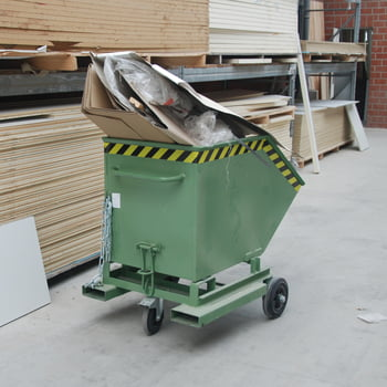 Kastenwagen - 400 l Volumen - Traglast 300 kg - Einfahrtaschen - schwarzgrau online kaufen - Verwendung 0