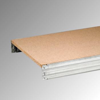 Aktenregal mit Holzböden - Tiefenriegel - 6 Ebenen - 250 kg - 2.075 x 875 x 300 mm (HxBxT) - Grundregal - verzinkt online kaufen - Verwendung 3