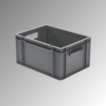 Eurobox - Eurokasten - Volumen 19 l - Boden und Wände geschlossen - 210 x 300 x 400 mm (HxBxT) - VE 4 Stk. - grün