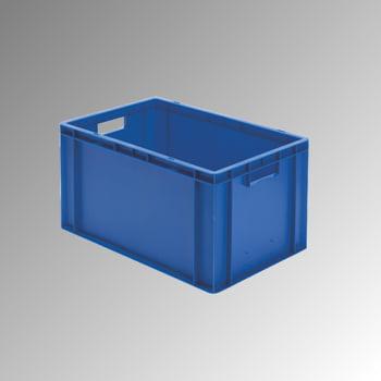 Eurobox - Eurokasten - Volumen 61,00 l - Boden und Wände geschlossen - 320 x 400 x 600 mm (HxBxT) - VE 2 Stk. - grün