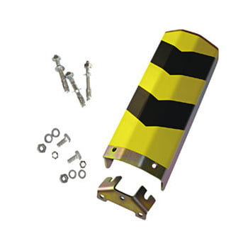 Front Anfahrschutz - U-Profil - Lichte Breite 210 mm - Höhe 400 mm - gelb/schwarz