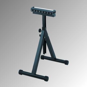 Rollenständer mit Kugelleiste - Traglast 200 kg - Rollenbreite 350 mm - Höhe 758-1.197 mm