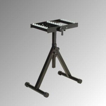 Rollenständer mit Kugeltisch - Traglast 200 kg - Höhe 707 - 1.128 mm
