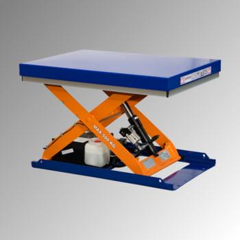 Kompakt Hubtisch - Traglast 500 kg - max. Hub: 760 mm - 600 x 900 mm (BxT) - Hubzeit: 12 sec