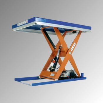 Kompakter Hubtisch - Traglast 1.500 kg - max. Höhe 1.210 mm - Größe 800 x 1.500 mm (BxT) - Hubzeit: 17 sec