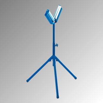 Rollenständer V-förmig - Höhe 670-1.100 mm - Traglast 100 kg - Rollenbreite 200 mm