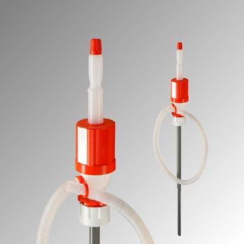 Handpumpe - Siphonpumpe - G2 Gewinde - für leicht agressive Chemikalien auf Wasserbasis