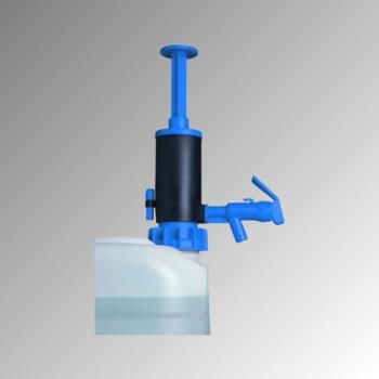 Abfüllpumpe - Transferpumpe - Dichtung aus NBR für nicht brennbare Mineralölprodukte - für Kanister und Fässer