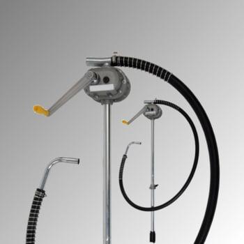 Handkurbel rotationspumpe - Fasspumpe - G2 Gewinde - für Öle und Diesel - 50 m
