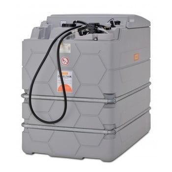 Mobile Schmierstoff Tankanlage - Tankstation mit Schlauchaufroller und Zapfpistole - Volumen 1000 l