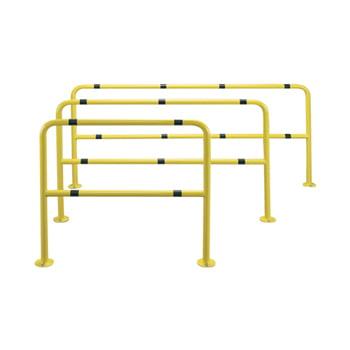 Rammschutz-Bügel für den Innenbereich, Rammschutzgeländer aus Stahl, 1.000 mm Höhe, 1.000 mm Breite, Durchmesser 42 mm