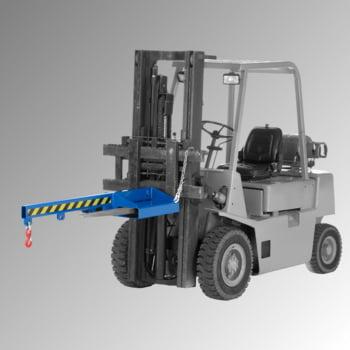 Lastarm - Länge 1.500 mm - Traglast bis zu 1.000 kg - enzianblau online kaufen - Verwendung 2