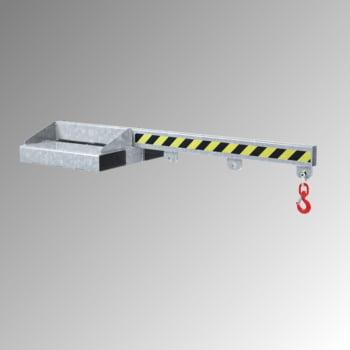 Lastarm - Länge 1.500 mm - Traglast bis zu 2.500 kg - verzinkt