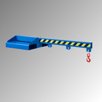 Lastarm - Länge 1.500 mm - Traglast bis zu 5.000 kg - enzianblau