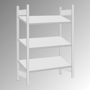 Schrägbodenregal - 150 kg - 3 Fachböden - 2.000 x 1.285 x 600 mm (HxBxT) - Grundregal - verzinkt online kaufen - Verwendung 0