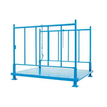 Stapelgestell - Seiten klappbar - Traglast 1.200 kg - 1.200 x 1.200 x 1.500 mm (HxBxT)