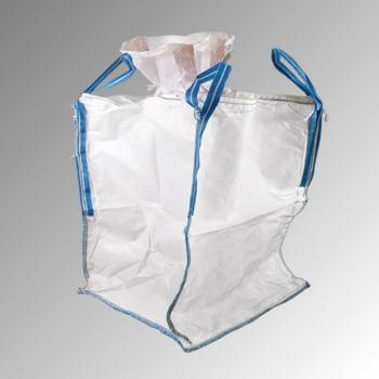 Big Bag mit Aufdruck - 10 Stk. - Nutzlast 1.000 kg - 1.100 x 900 x 900 mm (HxBxT) - weiß