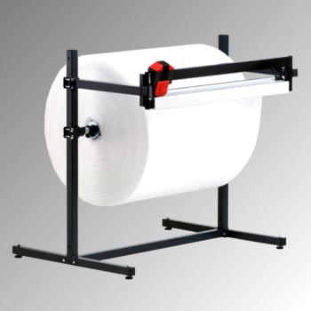 Schneidständer - waagerecht - Schnittbreite 1.600 mm - Rollendurchmesser 800 mm - 1.165 x 1.970 x 850 mm (HxBxT)