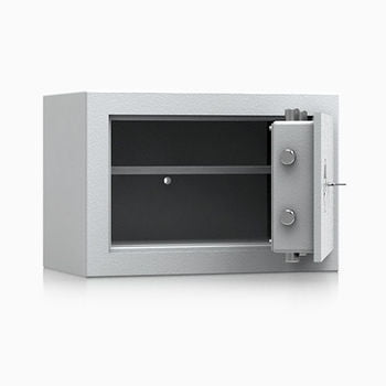 Wertschutzschrank, BTM Tresor, Betäubungsmittelschrank, Aktentresor, Safe, VdS Klasse 1, feuerhemmend, 18 l Volumen, 336 x 496 x 300 mm (HxBxT)
