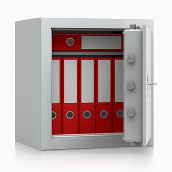 Wertschutzschrank, BTM Tresor, Betäubungsmittelschrank, Aktentresor, Safe, VdS Klasse 1, feuerhemmend, 53 l Volumen, 536 x 496 x 410 mm (HxBxT)