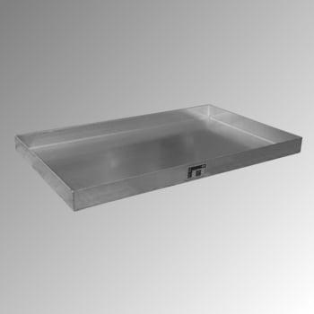Kleingebindewanne - Volumen 30 l - (HxBxT) 70 x 1.000 x 600 mm - Edelstahl