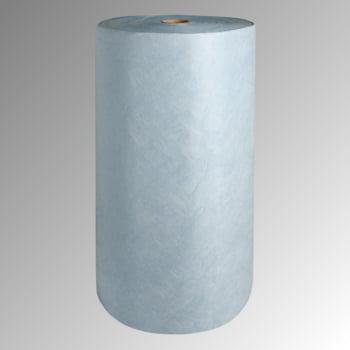 Bindevlies - Öl - Bindemittelrolle - Zweilagig - Rollenbreite 400 mm - VE 2 Stk. - Aufnahmekapazität 162 l - blau