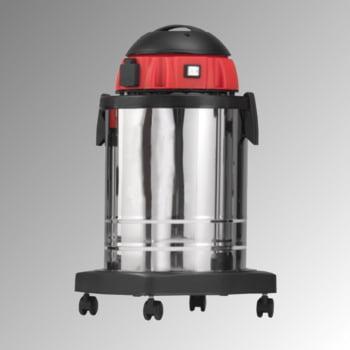 Industriesauger mit Steckdose - Staubklasse H - Nass- Trockensauger - 1.200 W - Volumen 33 l - 650 x 470 x 470 (HxBxT)