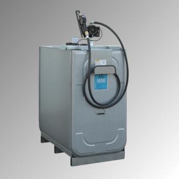 Diesel Tankanlage - Tankstation mit Zapfpistole - Volumen 1.000 l - 50 l/min