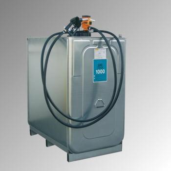 Diesel Tankanlage - Tankstation mit Zapfpistole - Volumen 1.000 l - 30 l/min