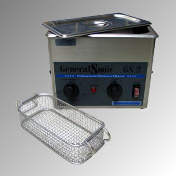 Ultraschallreiniger - Volumen 2 l - 210 x 260 x 150 mm (HxBxT) - Edelstahl