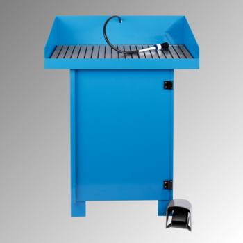 Teilereiniger - Teilewaschgerät - 1 x 50 l Fass Purgasol - Traglast 150 kg - Arbeitshöhe 895 mm