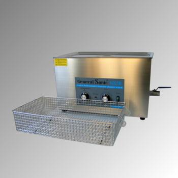 Ultraschallreiniger - Volumen 20 l - 332 x 530 x 325 mm (HxBxT) - Ablaufhahn - Edelstahl