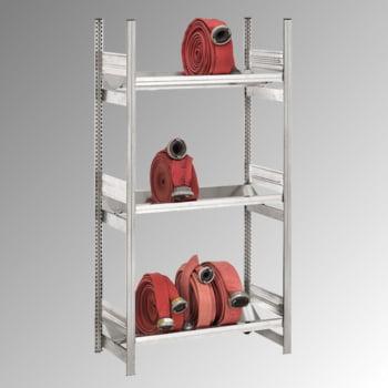 Schlauchregal - 3 Böden - Traglast 500 kg - 2.000 x 535 x 1.010 mm (HxBxT) - verzinkt