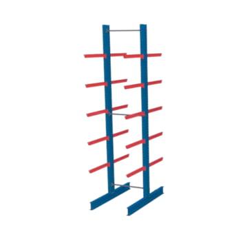 Doppelseitiges Kragarmregal, Langgutregal - 2.500 x 1.000 x 400 (HxBxT) - 500 kg - Grundregal