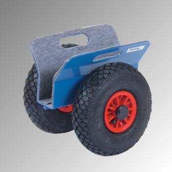 Fetra - Plattenroller - 250 kg - Klemmbreite 0 bis 60 mm - Vollgummibereifung