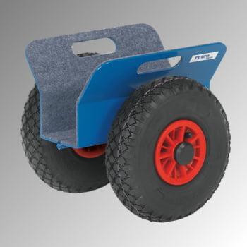 Plattenroller - Fetra - 250 kg - Klemmbreite 30 bis 95 mm - Vollgummibereifung