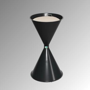 Standascher - 730 x 400 mm - Schale, Sieb - schwarzgrau
